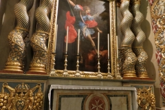 St John's Co-Cathedral, Valleta. Chapel of Provence. Dedicated to the Archangel Gabriel