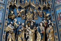 Altar, St. Mary's Basilica, Krakow