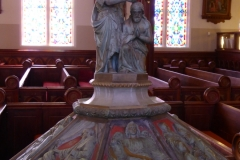 Baptismal Font, St. Mary's in the Mountain, Virginia City