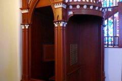 Confessional, St. Mary's in the Mountain, Virginia City
