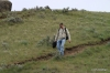 Steamboat Rock -- Greg descends a trail