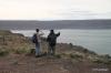 Steamboat Rock -- Greg & Oscar enjoy the view!