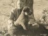 John Steinbeck and Charlie, his beloved poodle