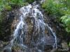Waterfall, trail to Stevens Lake