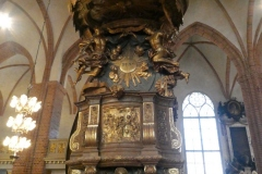 The Pulpit,  Stockholm Cathedral
