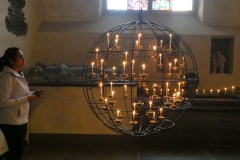 The Candle Globe, Stockholm Cathedral
