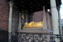 Cenotaph of 13th century Swedish statesman Birger Jarl