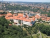Strahov Monastery, Prague, viewed from Petrin Hill