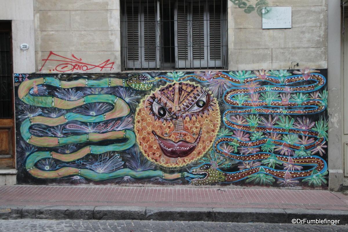 Street Art, San Telmo