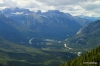 View to the west, Bow River Valley