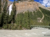 Takakkaw Falls and the Yoho River, Yoho National Park