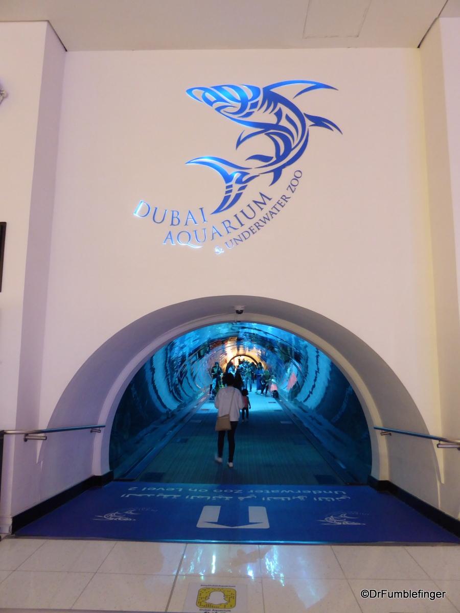 Aquarium, Dubai Mall