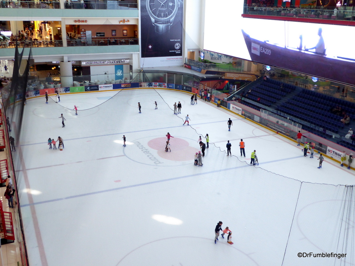 Ice Rink, Dubai Mall