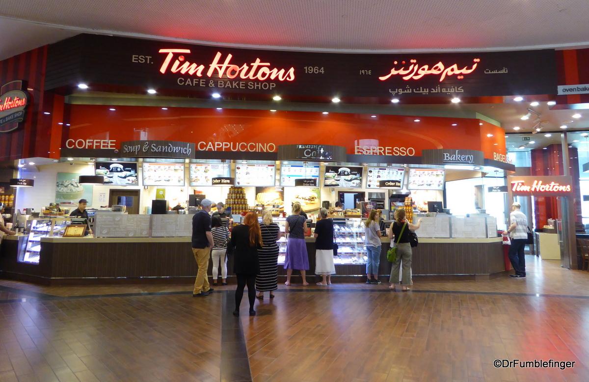 Food court, Dubai Mall