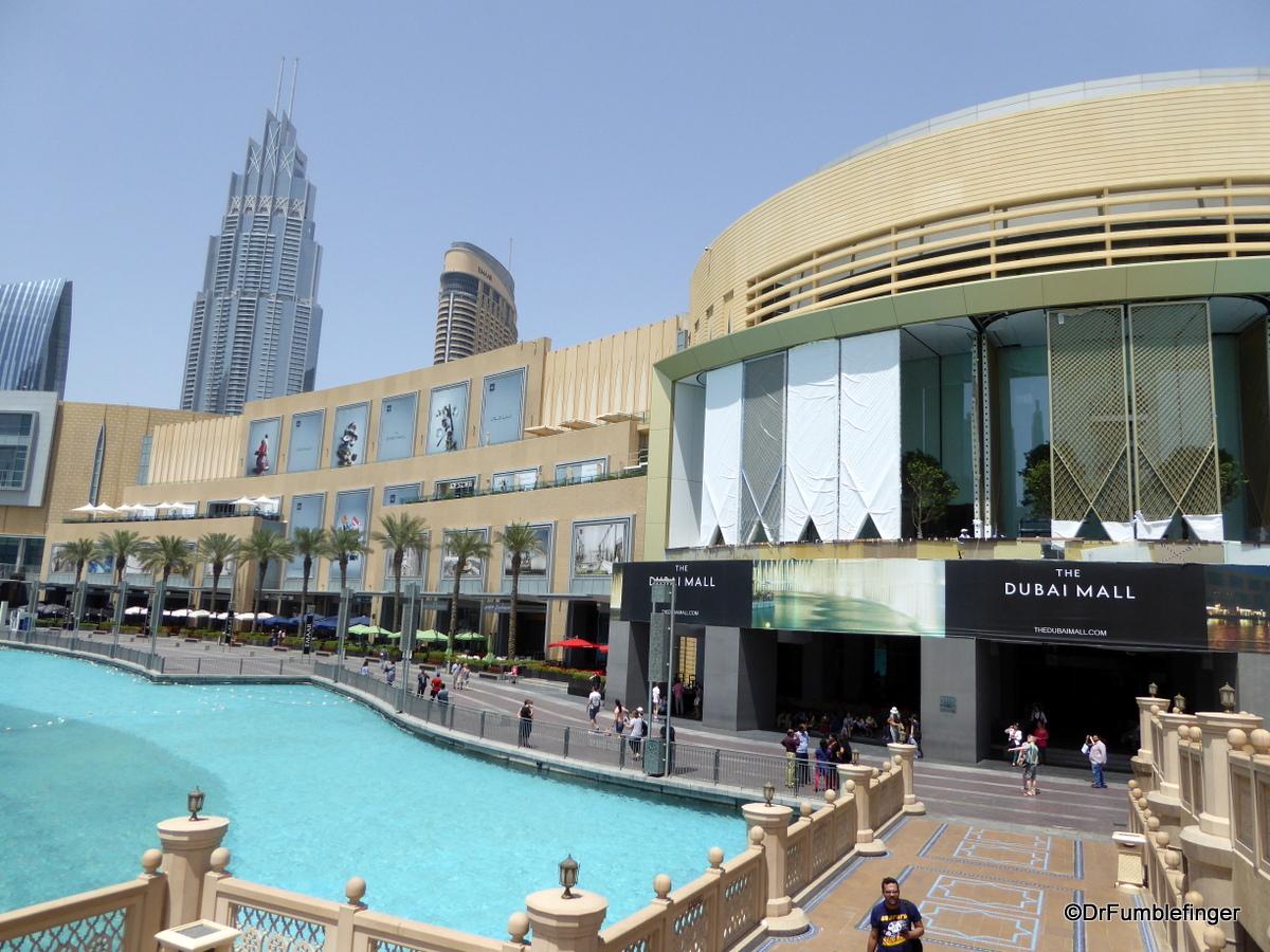 Fountain area, Dubai Mall