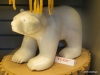 Inuit carving, polar bear, the Forks Market