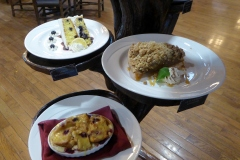 Keeter Center, College of the Ozarks, Dessert selection