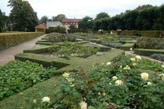 Rosenberg Castle  Rose Garden