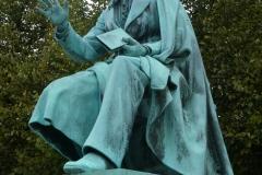 Rosenberg Castle Gardens - Hans Christian Andersen statue
