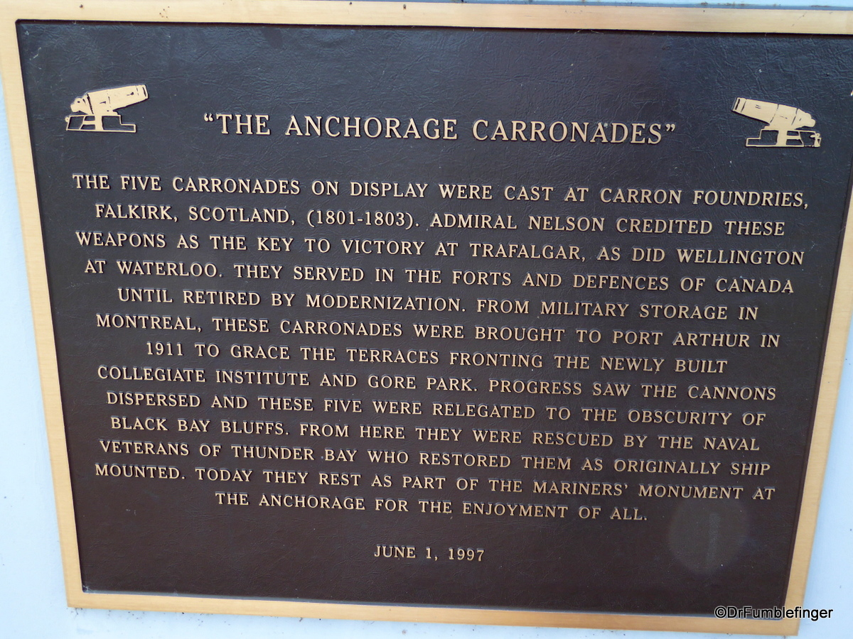 The Anchorage, Thunder Bay waterfront