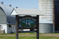 Dairy farm near Thunder Oaks Cheese Farm
