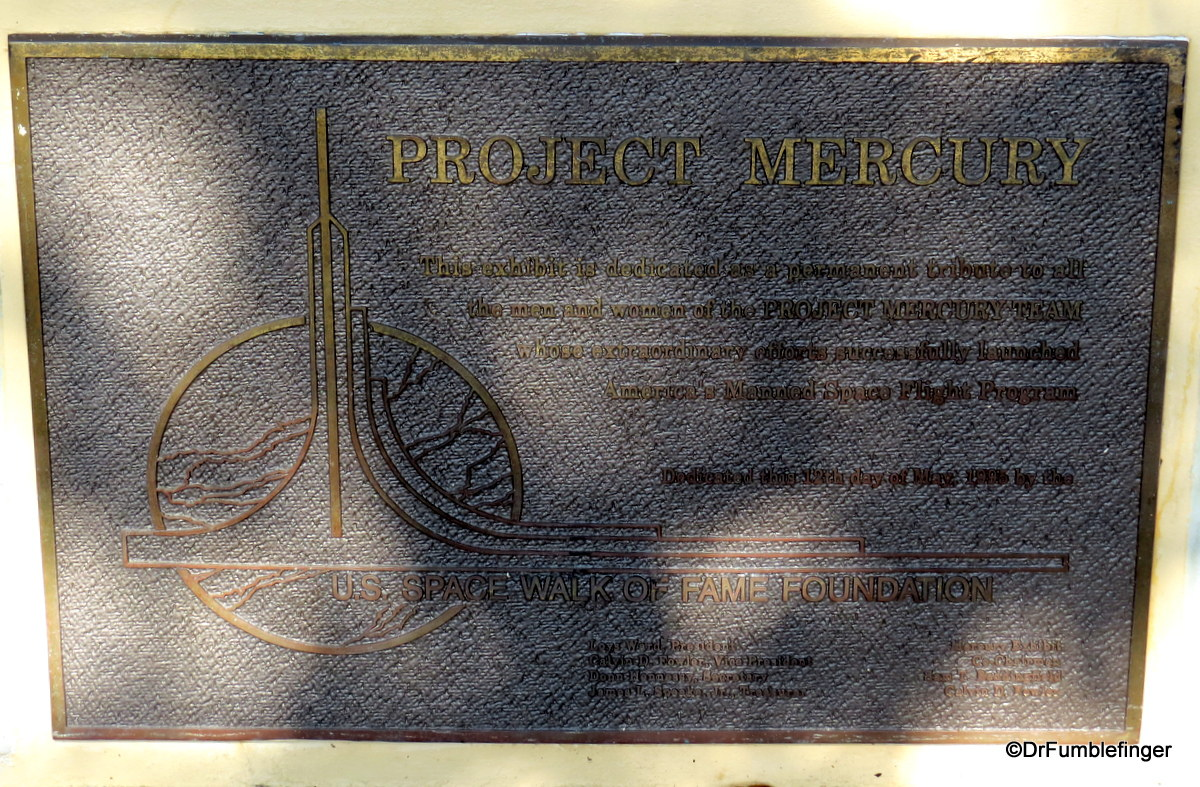 Project Mercury Exhibit, Titusville