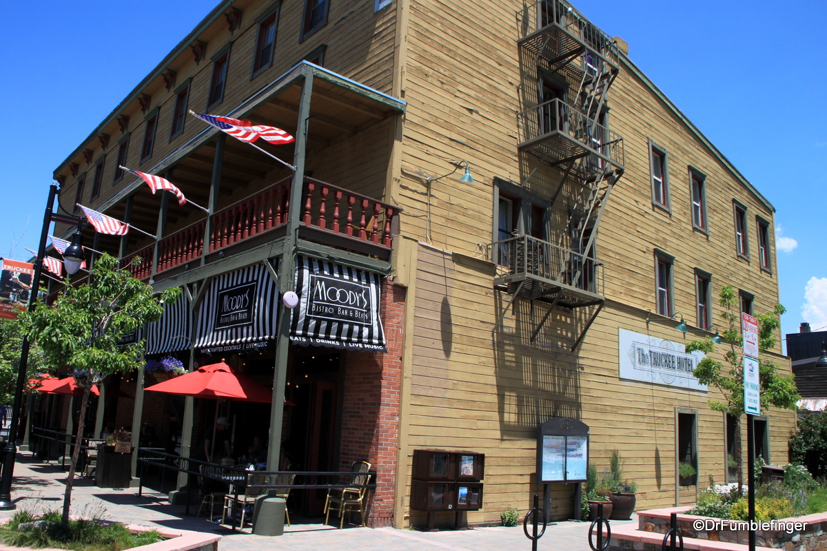 The old Truckee Hotel