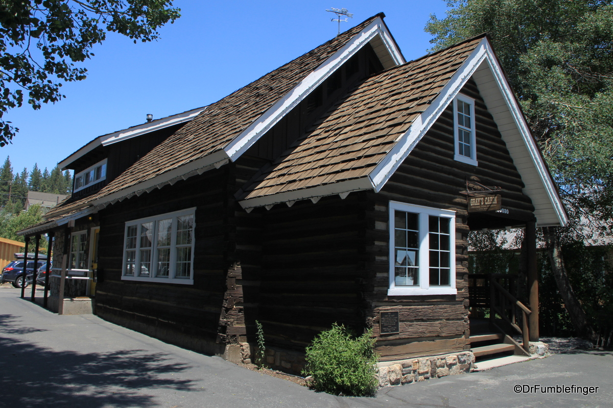 First log cabin in Truckee, 1863