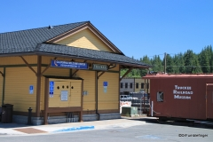 California Welcome Center and Railroad Museum, Truckee, California