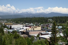 Overview of Truckee, California