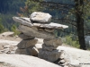 Inukshuk, Summit of Tunnel Mountain, Banff NP