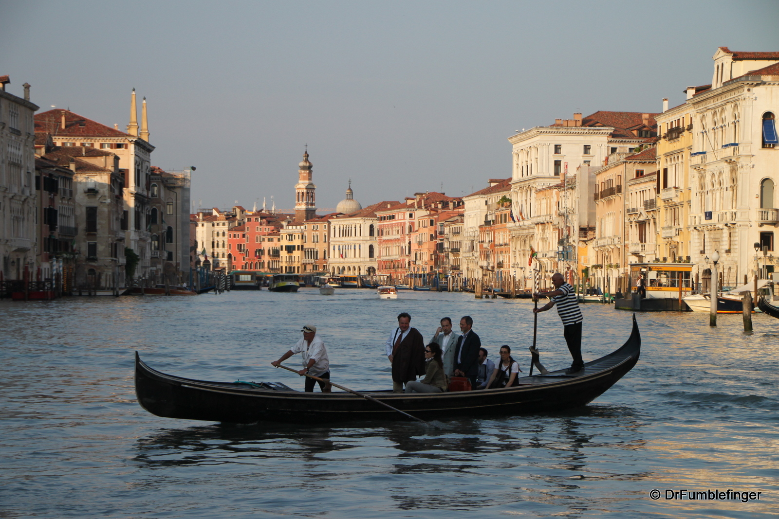 Traghetto crossing the Grand Canal