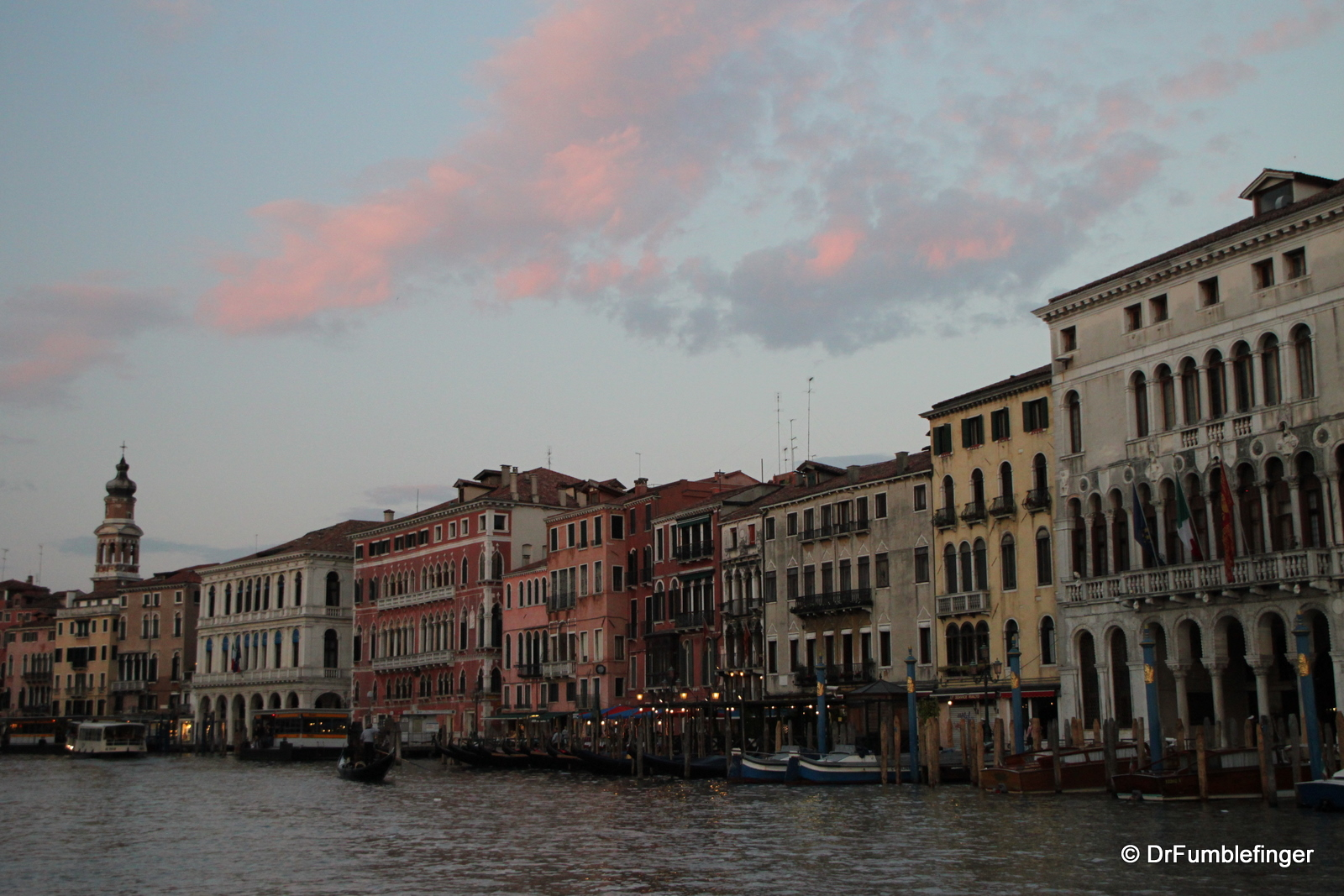 Dusk over the Grand Canal