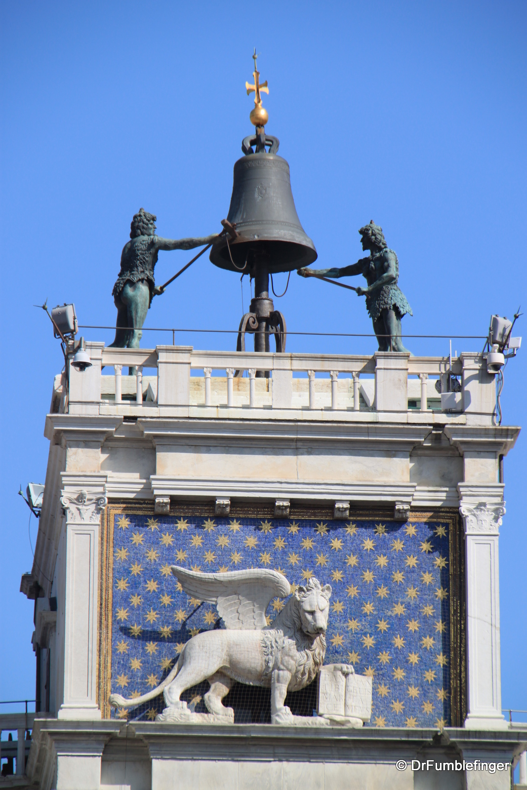 Clock tower, St. Mark's square