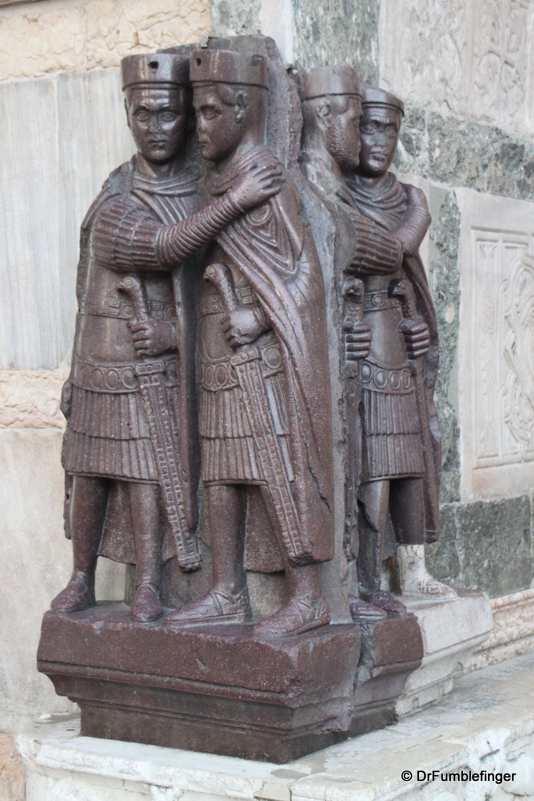 Doge Palace, the Tetrarchs