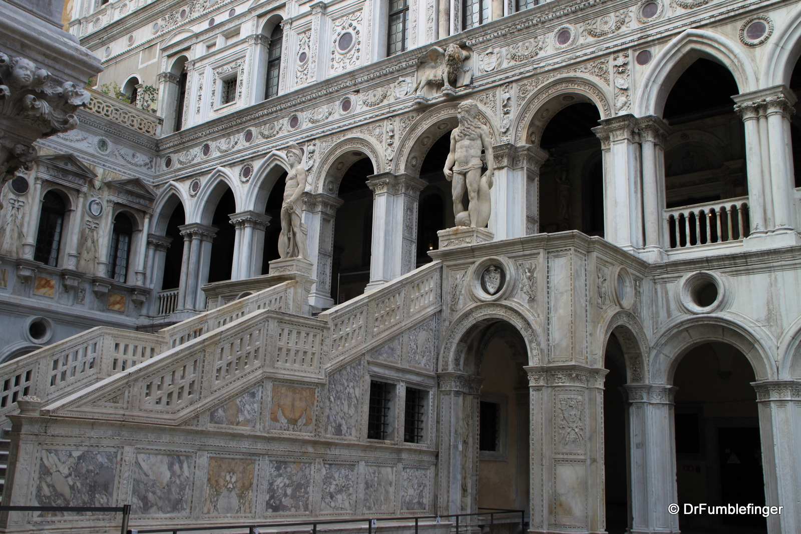 Doge Palace, Stairway of the Giants