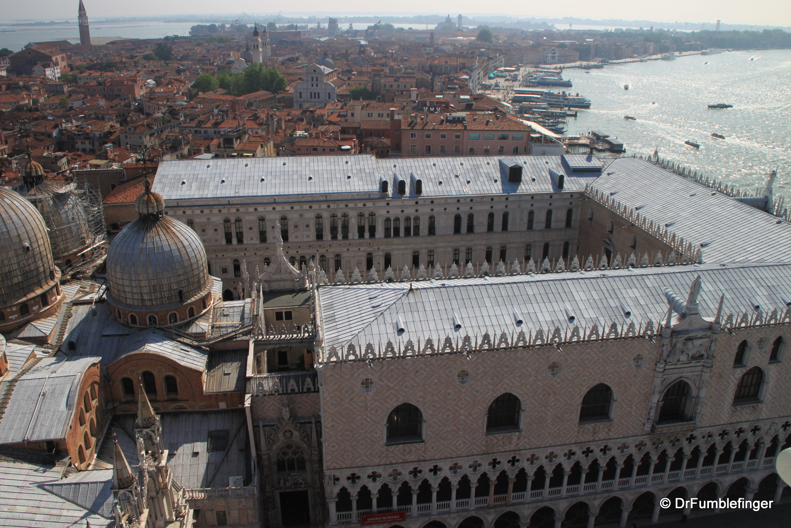 Doge Palace viewed from Campanile