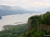 Columbia River Gorge with Vista House to the right of center