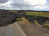 Volcanoes National Park. Lava flow has closed the Chain of Craters Road