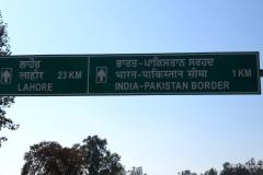 Wagah Border crossing, India & Pakistan