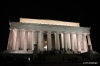 Washington -- Lincoln Memorial at night