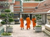 Young Buddhist monks at Wat Pho, Bangkok, Thailand