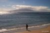 Lahaina -- view across to Lanai