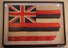 Lahaina -- Old flag in courthouse