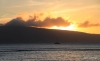 Lahaina -- sunset views of Lanai