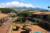 Kaanapali Beach -- Whaler`s village & West Maui Mts