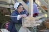 Colonial Williamsburg - basket weaver