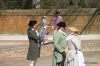 Colonial Williamsburg -- townfolk gathering