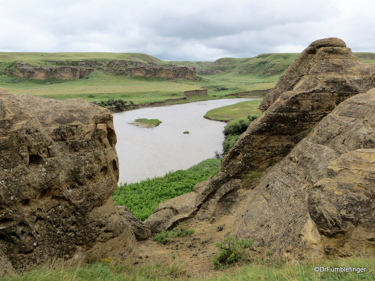 The Hoodoo Trail, Writing on Stone Provincial Park