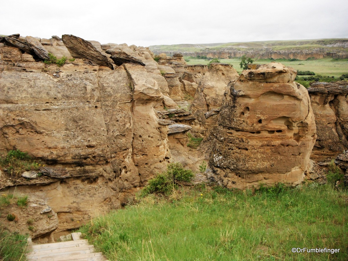 Battlescene Trail, Writing on Stone Provincial Park
